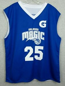 New-Orlando-Magic-2XL-Reversal-Basketball-Jersey-Reversible-Number-25