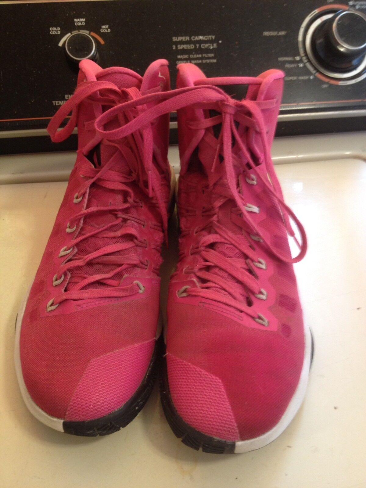 Nike Hyperdunk Zoom Breast Cancer Pink Mens 8 844359-660 (b33)