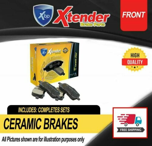 Ceramic Disc Brake Pads D598 For Lincoln Continental Mark VIII 1993-2002