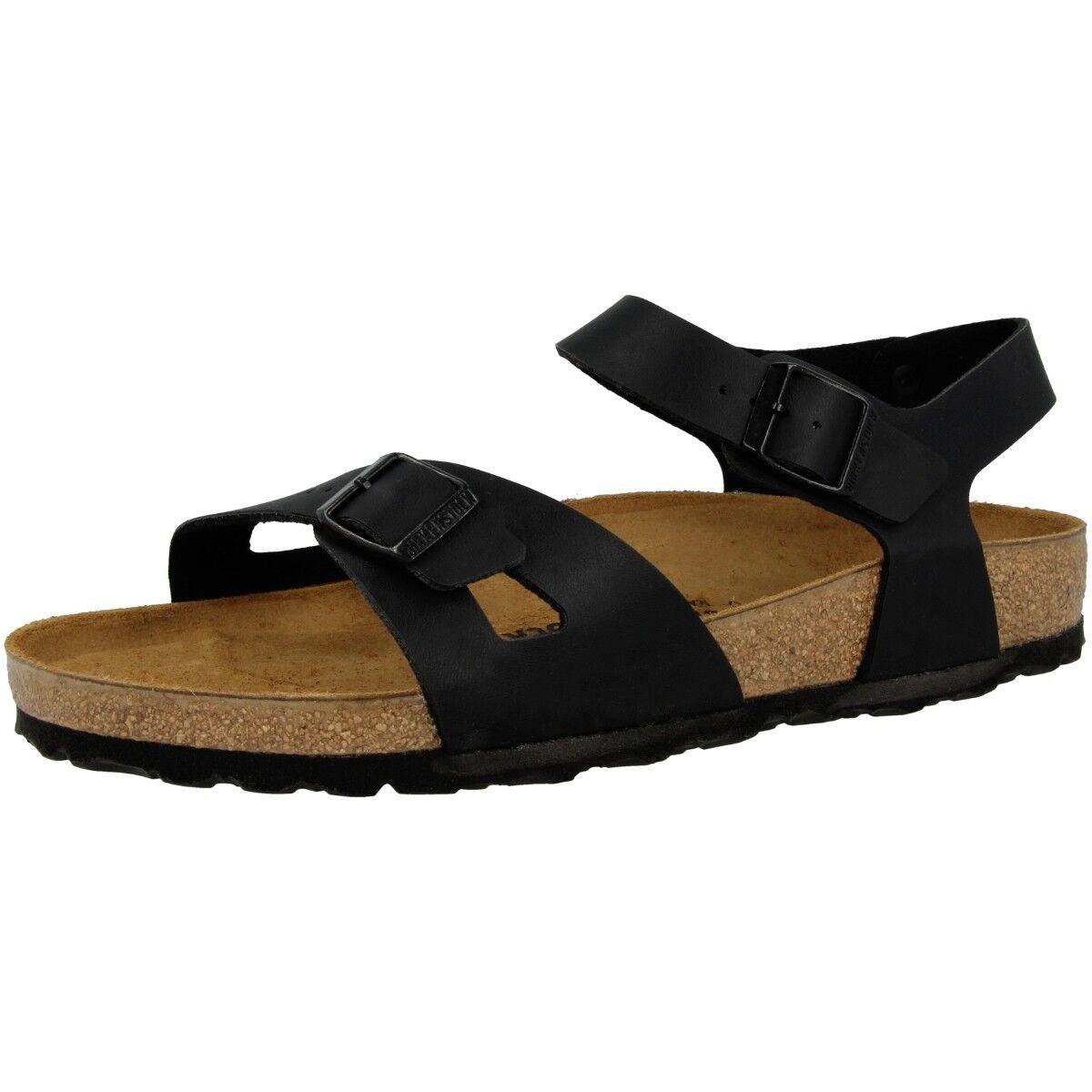 Birkenstock Rio Birko-Flor Sandalen Damen Sandaletten RiemenSandale Schuhe