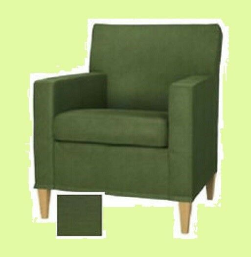 "IKEA Karlstad NEW Chair COVER ONLY Sivik GREEN 28""Small ..."