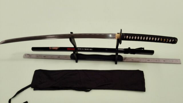 Handmade 41' Sharp High Carbon Steel  Japanese Samurai Katana Sword 002
