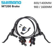 Shimano BR+BL-MT200 MTB Bicycle Hydraulic Disc Set Brake Front & Rear Black