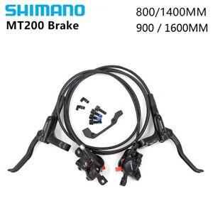 Shimano-BR-BL-MT200-MTB-Bicycle-Hydraulic-Disc-Set-Brake-Front-amp-Rear-Black
