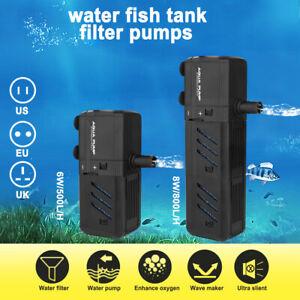 SUBMERSIBLE-AQUARIUM-INTERNAL-FILTER-PUMP-500L-H-800L-H-Fish-Tank-Water