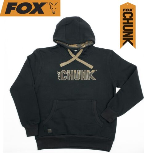Fox Chunk Camo Applique Hoody Black Kapuzenpullover Angelpullover Pullover
