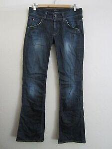 Hudson Signature Bootcut Flap Pocket Mac Medium Wash Jeans 27 x 33