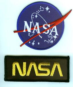NASA EMBROIDERED PATCH NASA SPACE EXPLORATION BADGE | eBay
