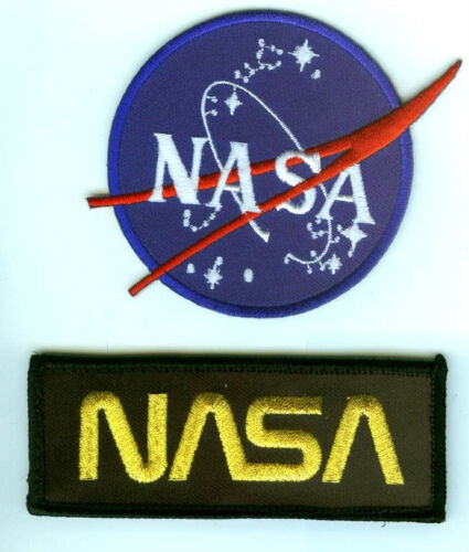 NASA EMBROIDERED PATCH NASA SPACE EXPLORATION BADGE