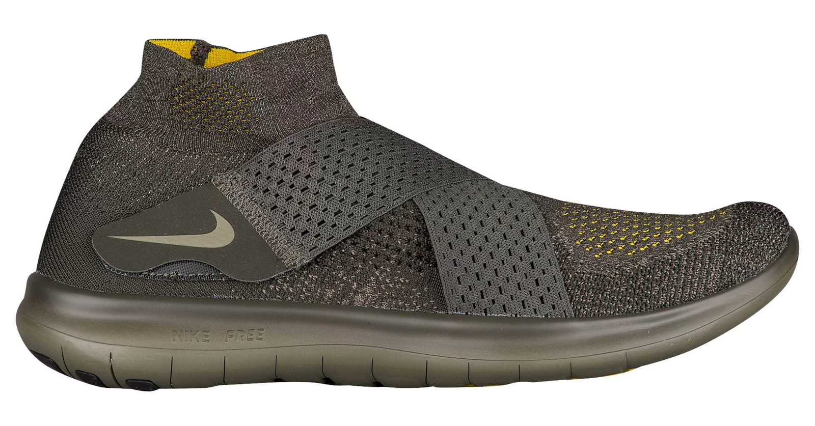 Nike Free RN Motion Flyknit Sequioa/Medium Olive Men's Shoes Size 10