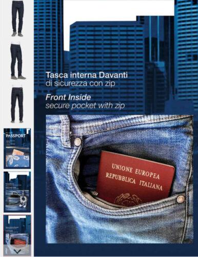 Denim Jeans Passport Regular Slavato A Azzurr Fit Stretch Carrera Da 56 New 46 1pgwBqq