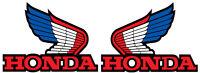 1985 Honda Atc 350x Gas Tank Wing Decals Vintage Motocross