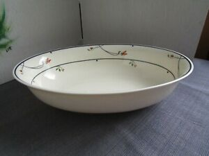 GORHAM-Ariana-Town-and-Country-Fine-China-Collection-Oval-Serving-Dish-10-034-EUC