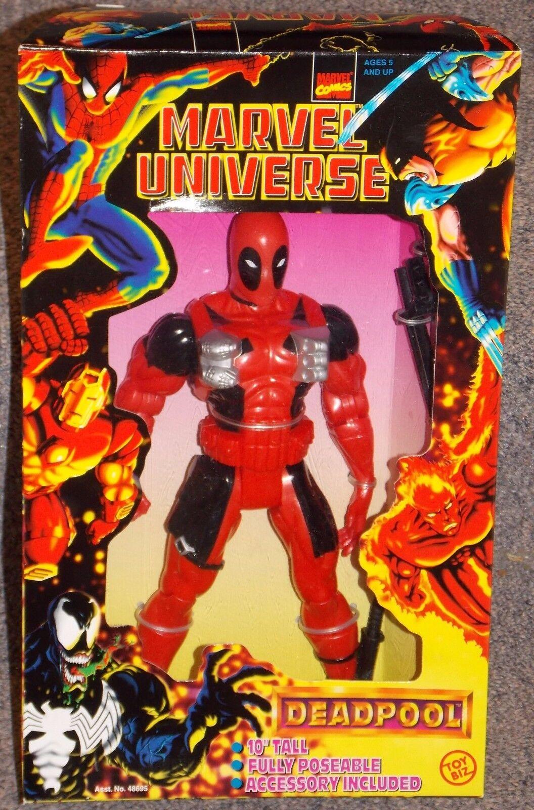 Jahrgang 1997 10 - zoll - abbildung neue marvel - comics fr deadpool in der box