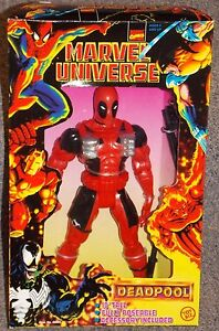 Vintage 1997 Marvel Comics Deadpool 10 Pouces Figure Nouveau Dans La Boîte 35112486961