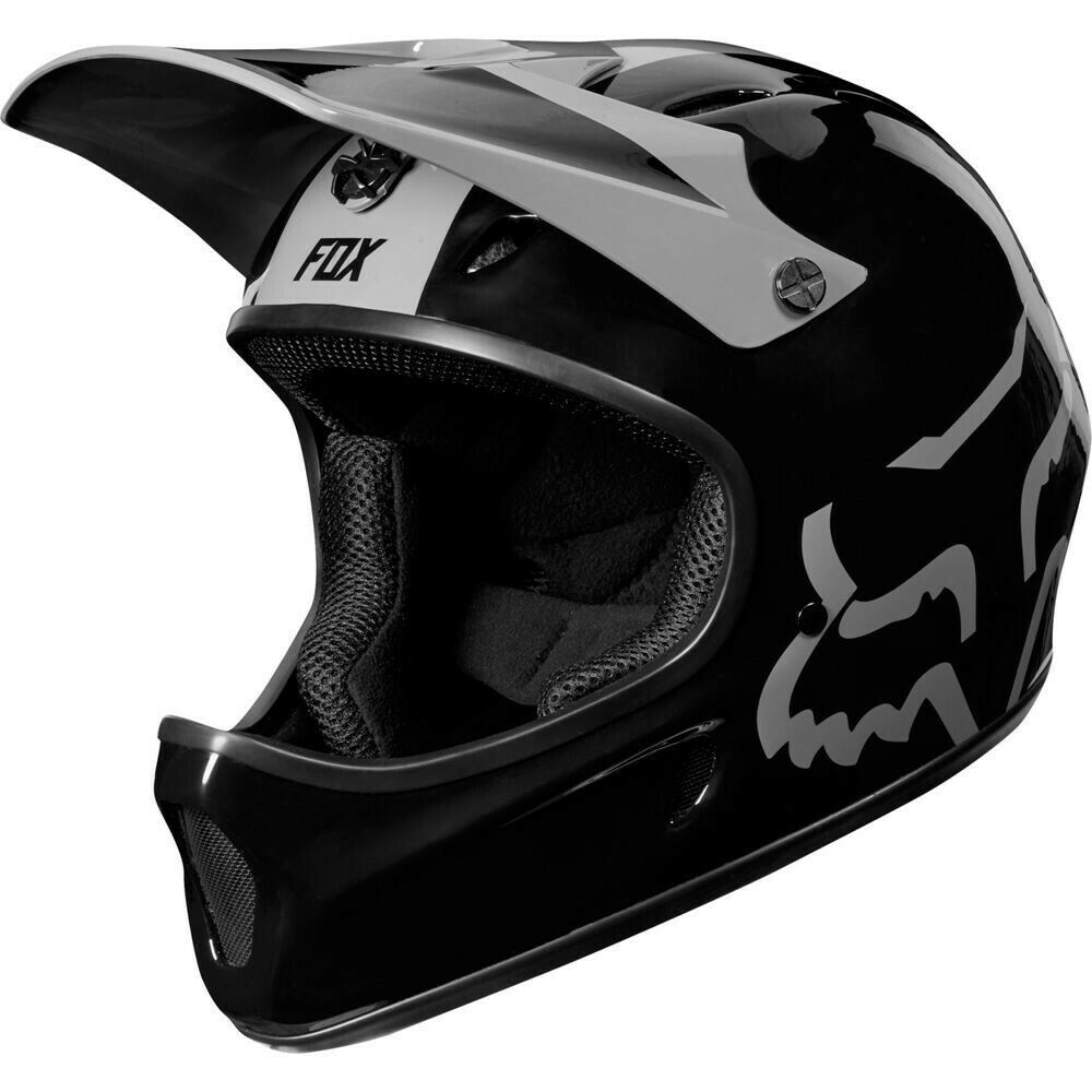 CASCO BICI INTEGRALE DOWNHILL MOUNTAIN BIKE FOX RAMPAGE HELMET negro