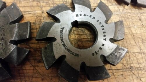 ONE Involute Gear Cutter 5 DP #3 35-54t or #4 26-34t national