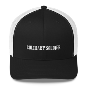 Culinary Soldier Trucker Cap