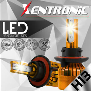 XENTRONIC-LED-Headlight-kit-H13-9008-White-for-2005-2016-Ford-F-450-Super-Duty