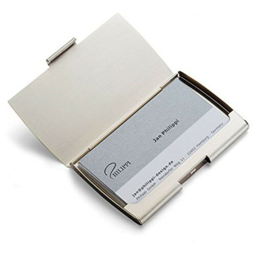 Philippi voyages étui cartes de visite cartes de visite classeur de crédit grise