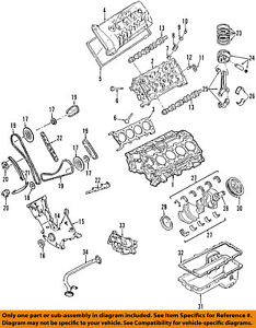 ford oem 07 14 mustang engine connecting rod bearing 4g7z6211aa ebay rh ebay com Rods and Cones Diagram hot rod engine diagram