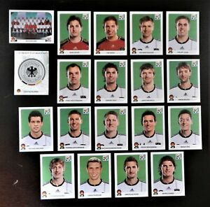Panini-coupe-du-monde-2010-Allemagne-Germany-equipe-equipe-COMPLETE-SET-WORLD-CUP-WC-10