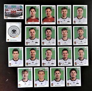 Panini-WM-2010-Deutschland-Germany-Mannschaft-Team-Complete-Set-World-Cup-WC-10