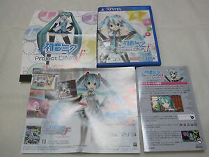 Details about 7-14 Days to USA W/AR Marker  New Edition Hatsune Miku  Project Diva f Japanese