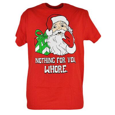 Other Baseball & Softball Honesty Nothing For You W E Santa Claus Medium Red Mens Tshirt Tee Short Sleeves Shirt