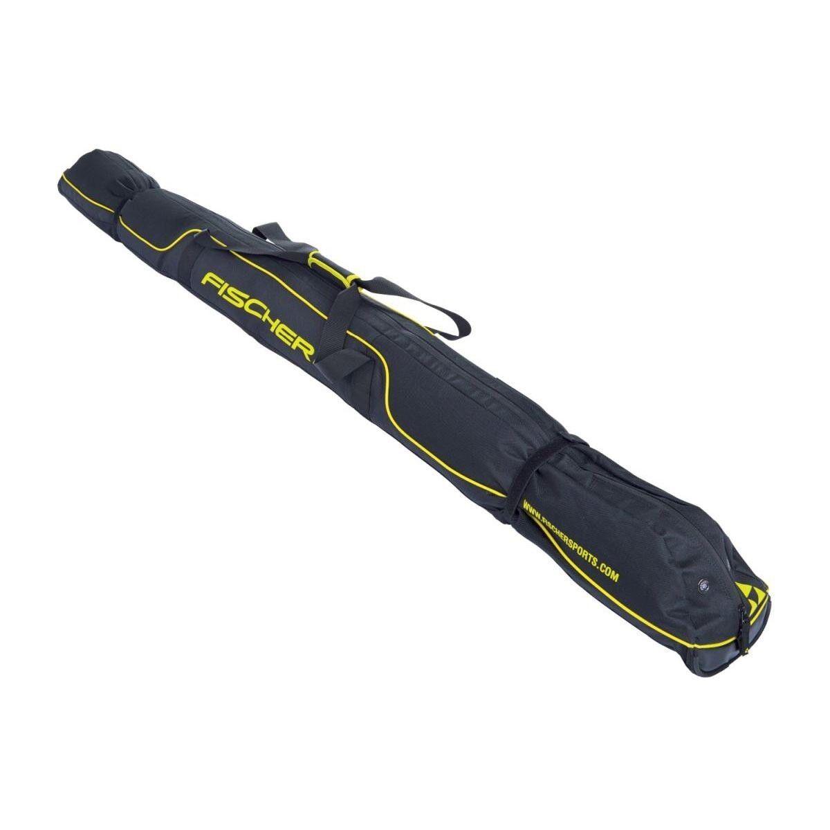 Fischer Skicase Skicase Skicase 3 Pair XC Performance 210cm Langlauf Skitasche schwarz 3939a7