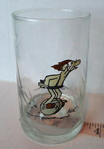 Arby-039-s-B-C-Comics-Caveman-Unicycle-Glass-1981-Tumbler-Collection-Johnny-Hart-BC