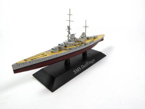 SMS Derfflinger 1913-1:1250 Navire de guerre IXO Croiseur militaire WS13