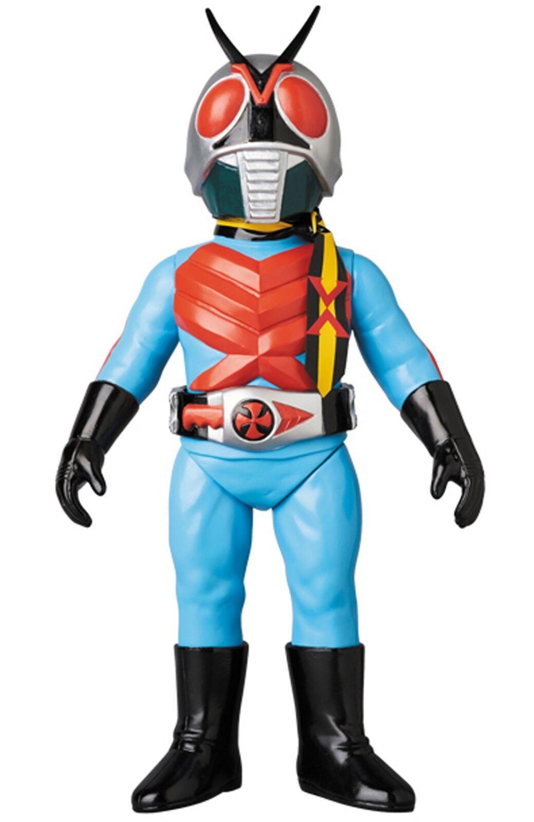 Masked Rider X New color Ver. Toei Retro Sofubi Vinyl Figure Medicomtoy 24cm
