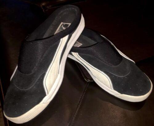 Slides Rare Taille Vintage Clyde 10 Puma Noir Sandals TFlJc1K5u3