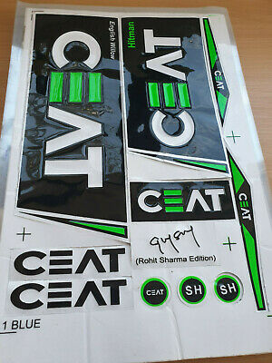 Free Shipping AU Stock SG Cricket Bat Sticker 3D Embossed