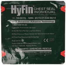 North American Rescue Hyfin Vent Chest Seal 4 Count awesome