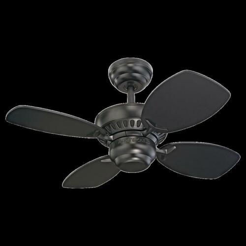 Monte Carlo Fan Company 28/' Colony II Fan 4CO28BK Black