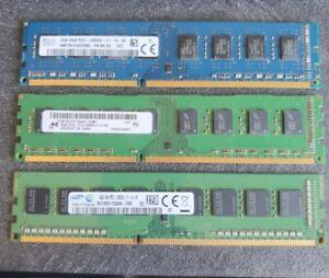 barrette RAM 4gb ddr3 12800U