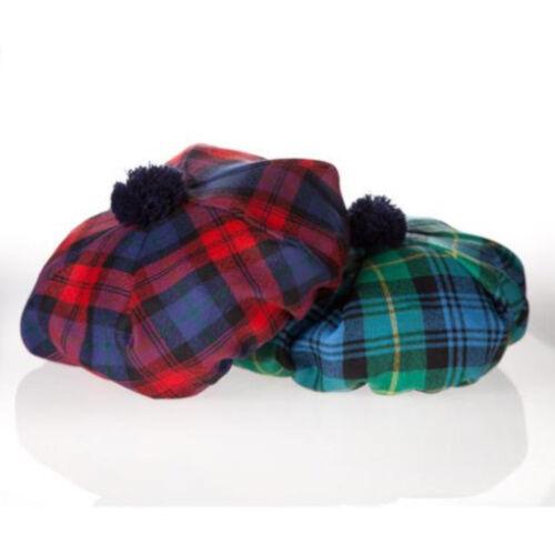 Stewart Hunting Modern Clan Scottish Tartan Tam Wool