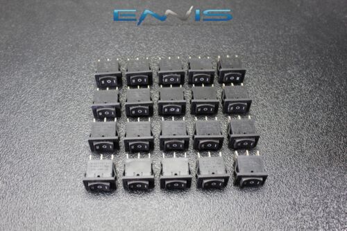 20 PCS MINI ON OFF ON MOMENTARY SPRING KICKBACK ROCKER SWITCH TOGGLE EC-1115PP