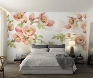 3D Gouache  Flowers 86 Wall Paper Murals Wall Print Wall Wallpaper Mural AU Kyra