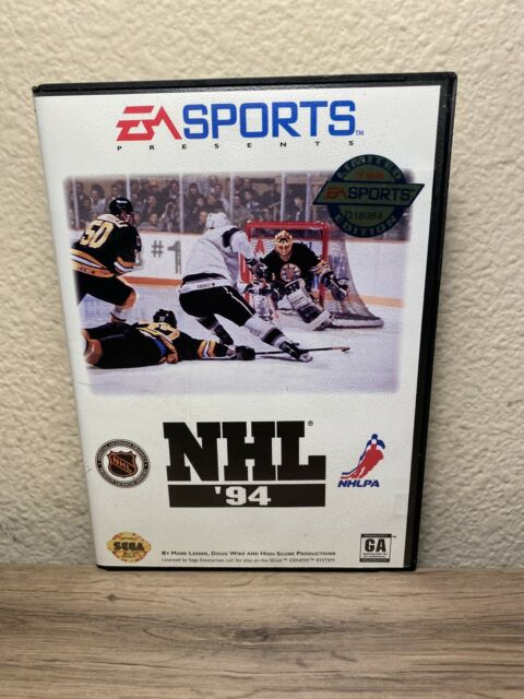NHL '94 Sega Genesis Game & Manual
