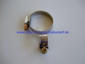 Schlauchschell<wbr/>e Edelstahl W2 Schlauchklemme<wbr/>n verschiedene Ø Schlauchschell<wbr/>en