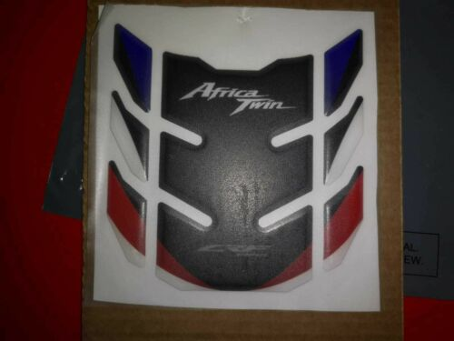 Motorcycle Tank Pad Protector Sticker Honda CRF 1000L Blue /& Red Twin Africa