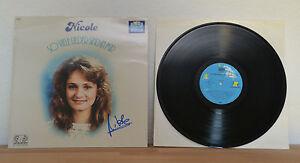 ORIGINAL-Autogramm-von-Nicole-pers-gesammelt-auf-VINYL-12-034-034-So-viele-Lieder-034