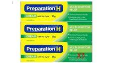 3x Canadian Preparation H Cream With Bio-Dyne Multi-Symptom 25g Canada Wrinkles