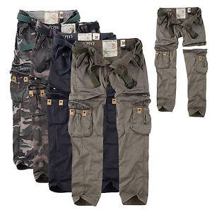surplus raw vintage damen premium trekking hose shorts in einem cargo zip off ebay. Black Bedroom Furniture Sets. Home Design Ideas