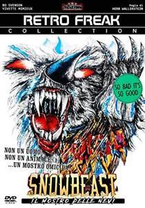 Snowbeast-Il-mostro-delle-nevi-Dvd-Retro-Freak-Video-Nuovo