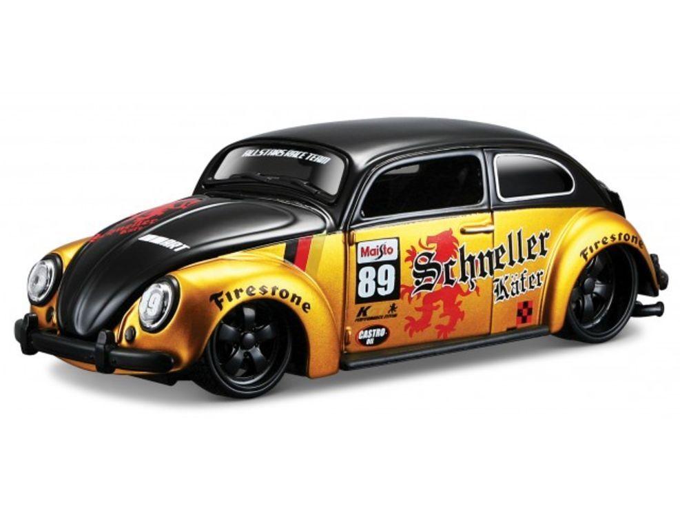 Volkswagen Beetle, Maisto Custo Shop Car Model 1 24