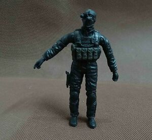 BBI Elite Force Navy SEAL Special Forces Ops Delta Force Soldiers gunner iron 4""